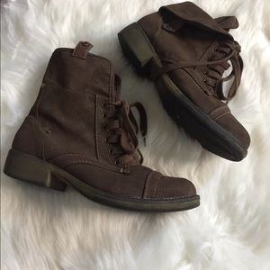 Rocketdog Brown combat boots size 9