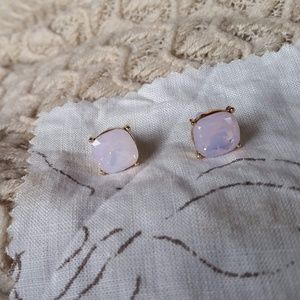 Jewelry - Large Light Pink Jeweled Studs