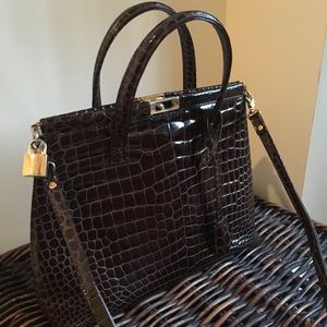 Handbags - Italian leather bag