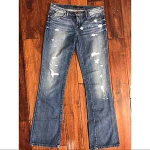 Distressed Bootcut Joe's Jeans