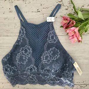 Gorgeous Blue Lace Bralette