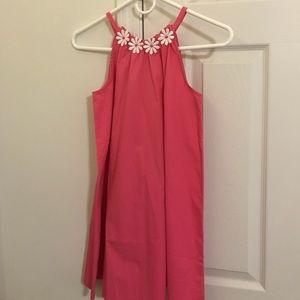 Gymboree pink summer tank top dress