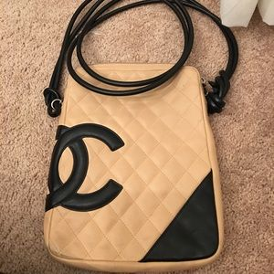 Authentic Chanel Cambon Messenger Bag.