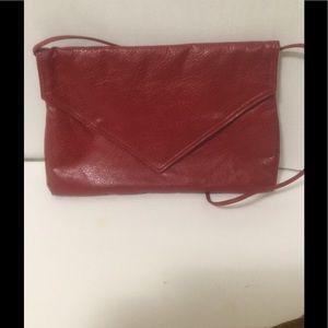 ⤵️Shoulder Bag To Clutch Purse 💯% Leather