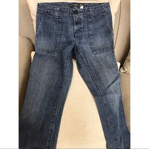 Banana Republic Flare cropped jeans