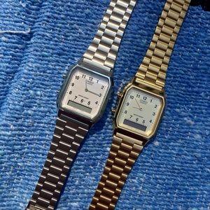 Casio Digital Analog Dual Time Wrist Watch