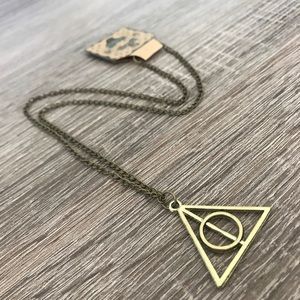 Jewelry - Deathly Hallows Bronze Necklace