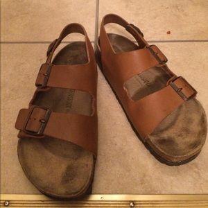 Chestnut Milano Birkenstock Sandals