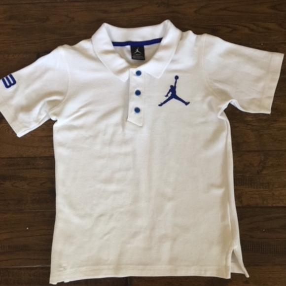 3ecc2d8db6d Air Jordan Shirts & Tops | Youth Boys S Jordan Polo Shirt | Poshmark