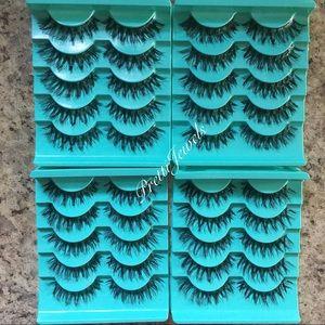 20 Pairs  Long Wispy Eyelashes