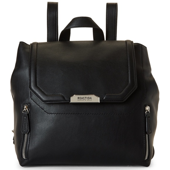 NWT KENNETH COLE REACTION TONI BACKPACK BLACK d484bf704a650