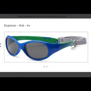 Other - Kids 100% UV protection sunglasses