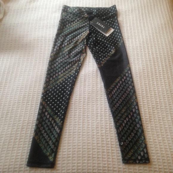 Terez Pants - NWT Terez printed leggings size XS