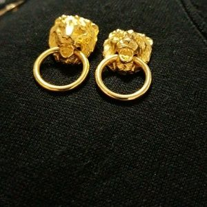 ♨️♨️♨️♨️♨️Gold Color Lion Earrings♨️♨️♨️♨️♨️
