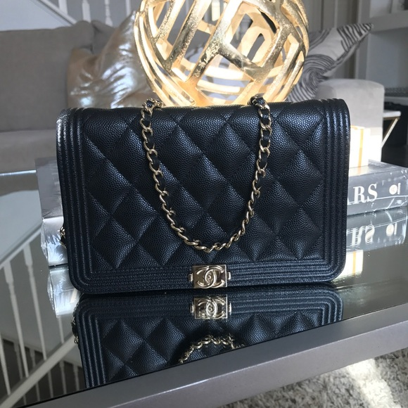 dced6153999a32 CHANEL Handbags - 2017 Rare Boy Chanel WOC