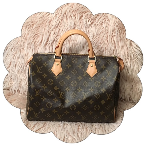 outlet sale beautiful design shop for luxury PRICE FIRM Authentic Louis Vuitton Speedy 30 Mono