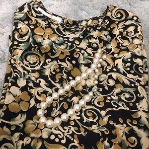 2/$20 Silk Blouse