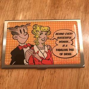 Handbags - 5 for $25 Blonde & Dagwood Credit Card Wallet