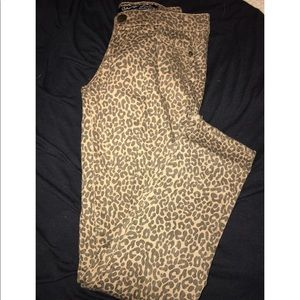 Denim - Cheetah pants