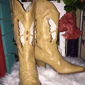 Vintage LEI cowgirl boots