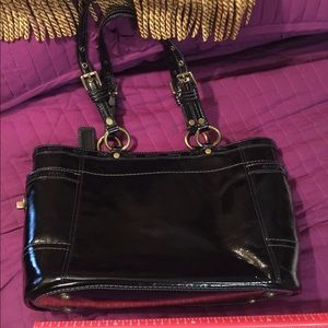 TODAY SALE Authentic Coach Patent Leather Purse