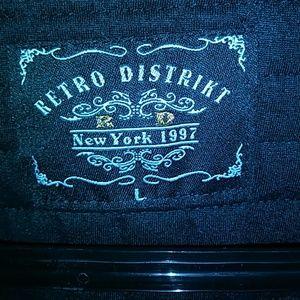 Retro Distrikt Jackets & Coats - BLACK, RETRO DISTRIKT JACKET