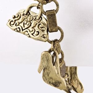 Bag n' Shoe Charm Bracelet