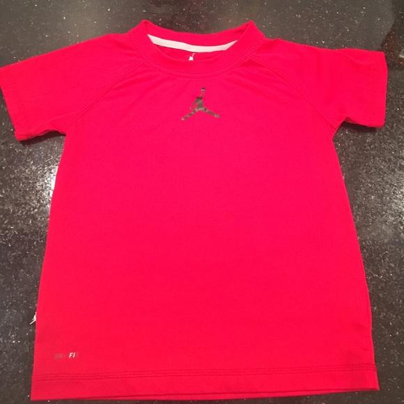 1f072aaab7edba Air Jordan Other - Jordan dri fit tee - red
