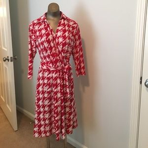 Jon & Anna NWT faux wrap front tie dress medium.