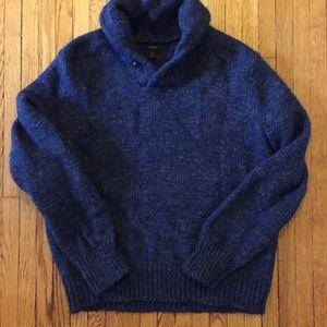 J. Crew cowl neck wool heavy Knit sweater