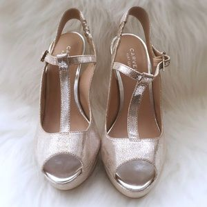 Carvela Kurt Geiger Shoes - Carvela Kurt Geiger Silver Platform Pumps