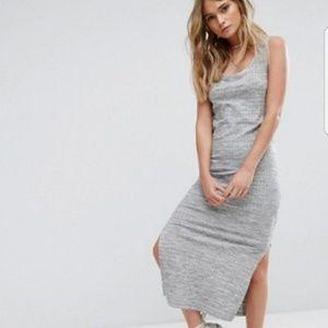 Asos Stripe Maxi Dress
