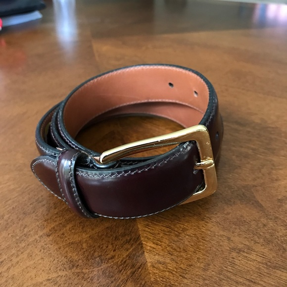 e6e5836c86c Cole Haan Other - Men s Cole Haan brown leather dress belt