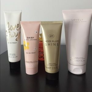 Other - Perfumed Body Lotion Bundle!
