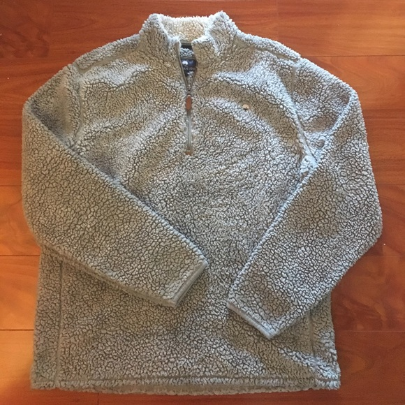 Southern Shirt Company Heathered Sherpa Pullover