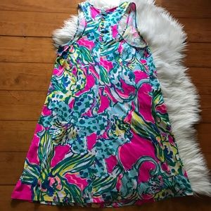 14ce8f50748e7f Lilly Pulitzer Dresses - Lilly Pulitzer Melle Trapeze Magenta Hottie Dress