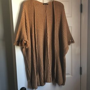 Open front Poncho-One Size
