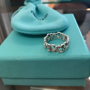 Tiffany and Co Pablo Picasso Heart Ring Band