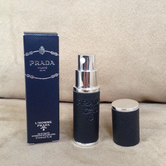Prada Other   Lhomme Spray Deluxe Travel Size   Poshmark 92ba8ec369cb