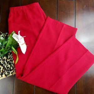 Pants - PLUS Size Red Dress Pants sz 14