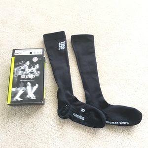 CEP Running Women's Compression Socks Black Size 2