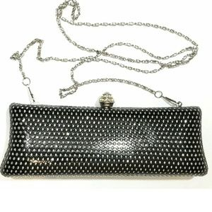 Handbags - Midnight Stars Clutch Shoulder & Wrist Chain NWOT