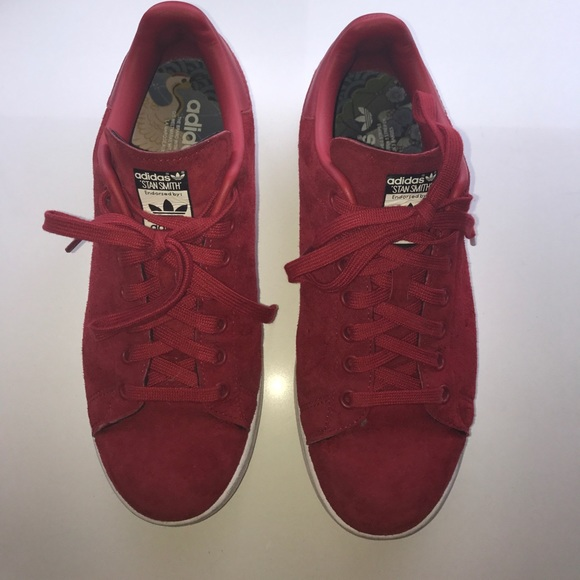 adidas Shoes   Adidas Stan Smith Red