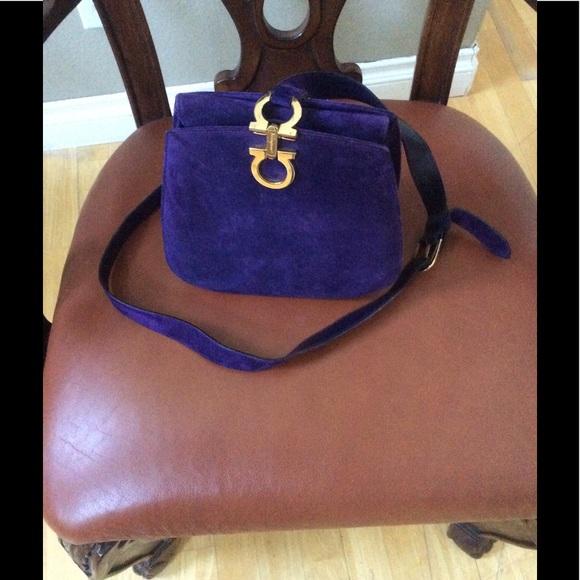 7a2564b298 Ferragamo Handbags - RARE SALVATORE FERRAGAMO Gancini Shoulder purse