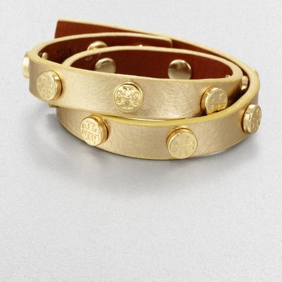 Tory Burch Jewelry - All Gold Tory Burch Wrap