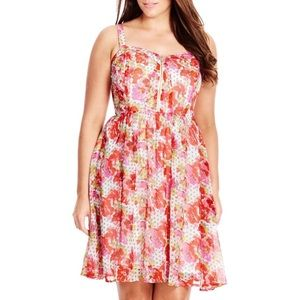 Floral Spot Dress