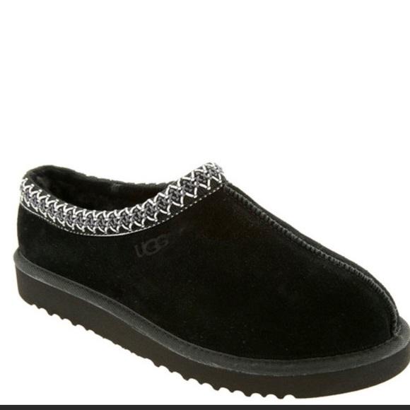 82a68229d6d Ugh tasman slippers, size 5.5 (women), black