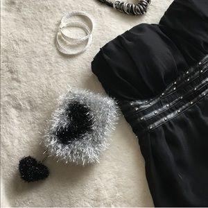 Handbags - 💘Heart Pom Mini Pouch |BLACK| 131
