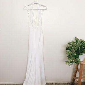 efb0243d97f Lulu s Dresses - LULUS TIME OUT OF MIND IVORY HALTER MAXI DRESS