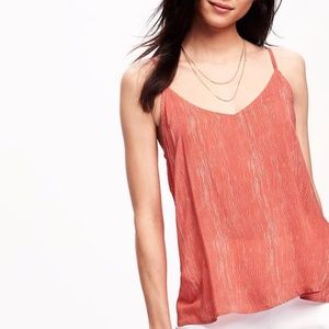 Tops - | open-back camisole |